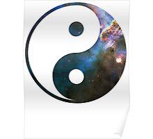 Mystic Mountain | Yin and Yang Symbol Poster