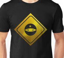 BEWARE! NINJAS AHEAD Unisex T-Shirt
