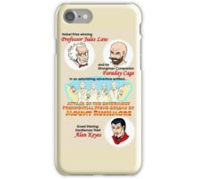 Attack of the Ginormous Presidential Stone Golems of Mount Rushmore iPhone Case/Skin