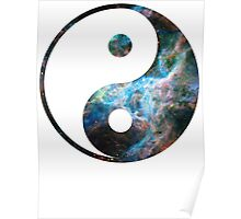 Tarantula Nebula | Yin and Yang Symbol Poster
