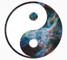 Tarantula Nebula   Yin and Yang Symbol by SirDouglasFresh