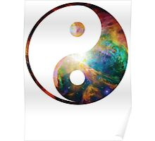 Heart of Orion | Yin and Yang Symbol Poster