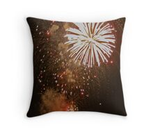 Wilmington Fireworks Throw Pillow