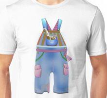 Blue Overalls Unisex T-Shirt