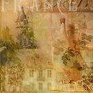 France...a collage of images by dawne polis