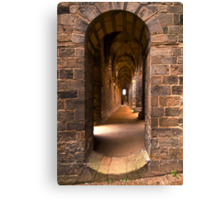 Step into the past Canvas Print