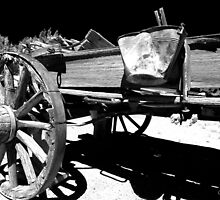Pail and Wagon by Cat Connor