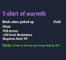 Tshirt of warmth  by kurticide