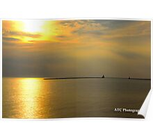 Sunset-Goderich, ON  Poster