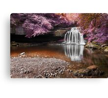 Fantasy Falls - West Burton Canvas Print