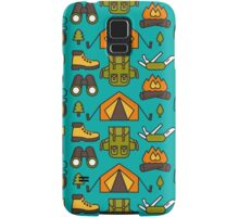 Camping Pattern Samsung Galaxy Case/Skin