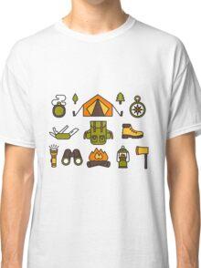 Camping Pattern Classic T-Shirt