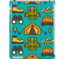 Camping Pattern iPad Case/Skin