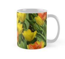 Orange and yellow tulips Mug