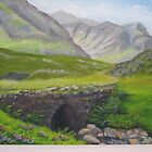 Bridge in Glencoe by Geraldine M Leahy