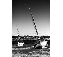Blakeney Rest BW Photographic Print