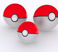 Pokeballs by August Designs