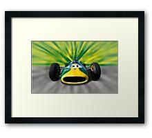 Lotus F1 Framed Print
