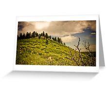 Boulder Sky Greeting Card