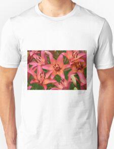 Orange lily flowers T-Shirt