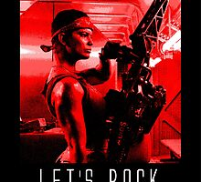 Let's Rock by SuzeeArt