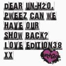 E38X - Dear un-h2o (Black) by Unphased
