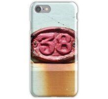 Beach Hut no 38 iPhone Case/Skin