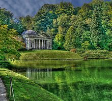 The Pantheon at Stourhead by Spiritmaiden