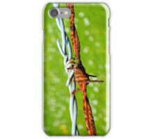 Still Life with Barbed Wire iPhone Case/Skin