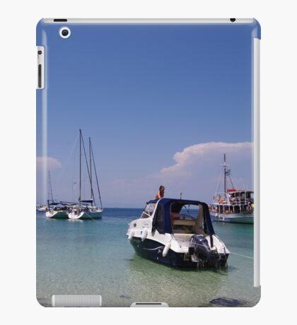 Boats Near The Beach iPad Case/Skin