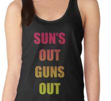 SUN'S OUT, GUNS OUT Women's Tank Top