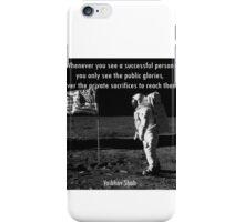Vaibhav shah's quote iPhone Case/Skin