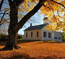 Autumn Morning in Walpack by ApertureArtist