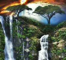 Dreamy Waterfalls by Gypsykiss