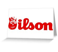 Wilson Greeting Card