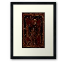 Echo of Love Decomposed Framed Print