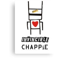 Invincible chappie Canvas Print