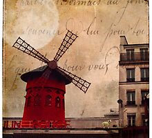 Jacques and the Moulin Rouge by dawne polis