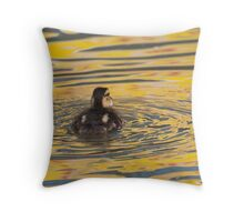 Colour Me Yellow Throw Pillow