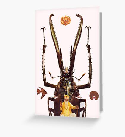 M Blackwell - The Guru... Greeting Card