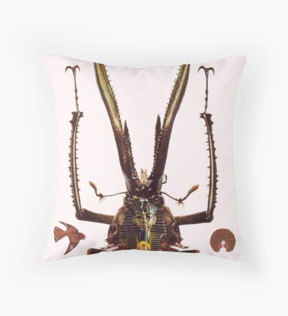 M Blackwell - The Guru... Throw Pillow