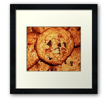 Cinnamon Chip Chocolate Chunk Cookies Framed Print