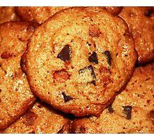 Cinnamon Chip Chocolate Chunk Cookies Photographic Print