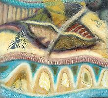 Tropical Fusions (Panel 4 of 4) by Kerryn Madsen-Pietsch