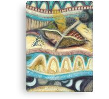 Tropical Fusions (Panel 4 of 4) Canvas Print
