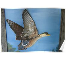 Painted Sculpture, Duck Poster