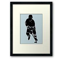 Hockey Guy Framed Print