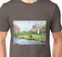 Bridal Veil Falls - Yosemite Unisex T-Shirt