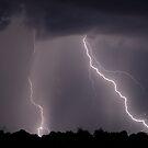 Backyard Lightning by Dennis Jones - CameraView