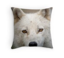 Steely eyed Stare Throw Pillow